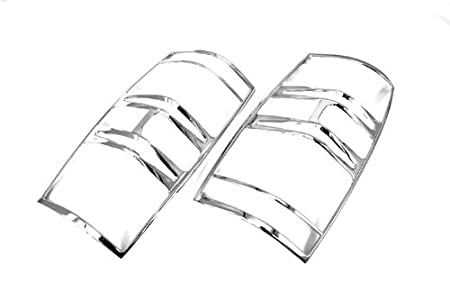 amazon xktuning triple chrome plated tail light covers for 2007 2017 Ford F-350 amazon xktuning triple chrome plated tail light covers for 2007 2014 suburban automotive