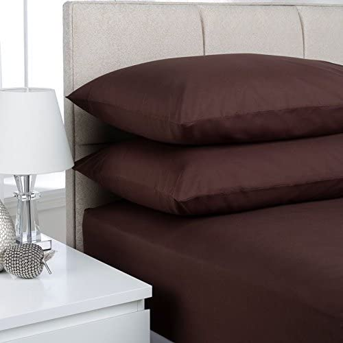 Double Fitted Sheet, Black 16 EXTRA DEEP Fitted Sheets Rohi ANTI ALLERGY Choice Of 5 Colours And 4 sizes