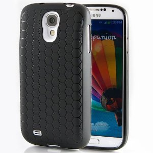 Hyperion Samsung Galaxy S5 Extended Battery HoneyComb Matte TPU Case / Cover (Fits 5600mAh and Hyperion's 6500mAh Extended Battery) [2 Year No Hassle Warranty] (CASE ONLY. Does not include battery) ()