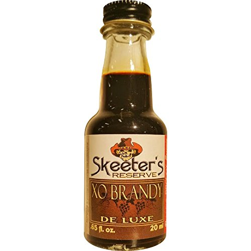 Skeeter's Reserve XO Brandy Premium Essence - Flavor Concentrate For Mixers and Cooking Recipes - Official Reloads For The Outlaw Kit MADE BY American Oak Barrel - 20 ml bottle (Best Cognac For Cooking)