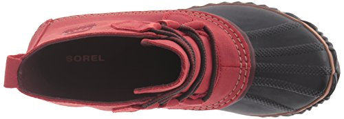 SOREL Womens Out N About Leather Snow Boot, Gypsy,5.5 M US