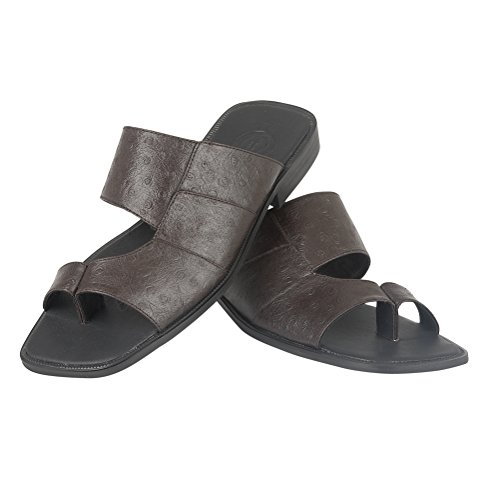 New Mens Leather Sandals Casual Summer Beach Sandal Shoes Size Coffee iyeU3bsy