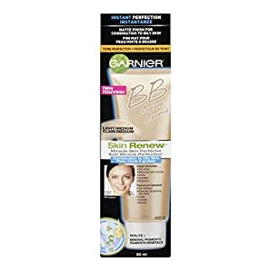 Garnier Skin Renew Miracle Skin Perfector Bb Cream, Combination To Oily Skin, Light/Medium, 2 Fluid Ounce (Packaging May Vary)