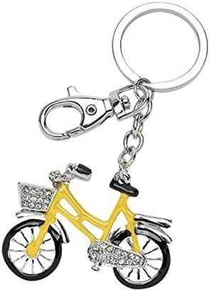 Ten Llavero Bicicleta Amarillo y Negro con Purpurina cod.EL3043 cm ...