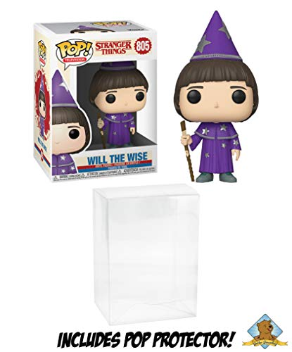 (Will The Wise Stranger Things Vinyl Pop Figure Featuring Golden Groundhog Pop Protector)