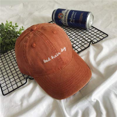 1e9201f4e5a HAT HOME Korean version of washed old hat tide male summer casual soft top  cap embroidery