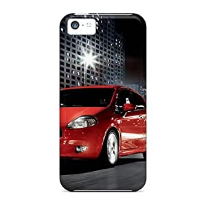 Durable Fiat Gr Punto Back Case/cover For Iphone 5c