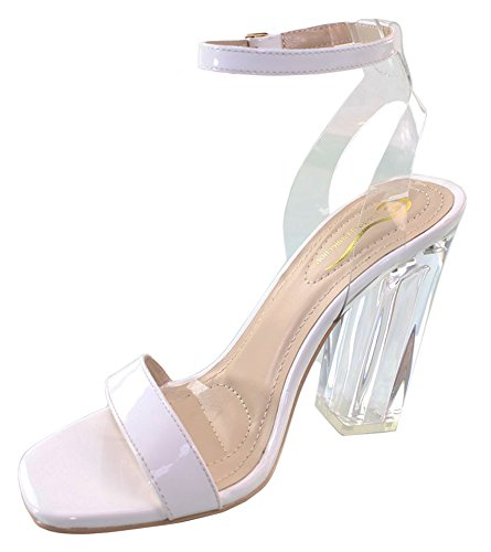Elegant Footwear Womens Square Strappy product image