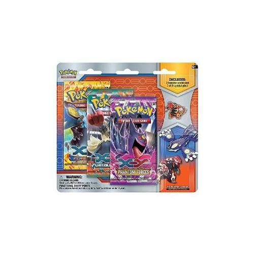 Pokemon Collector'S Pin 3 Pack Blister - Primal Kyogre