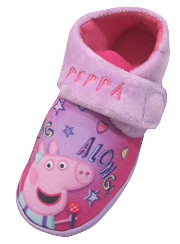 (Peppa Pig Sing Along Girls Slippers Infants Size 8)