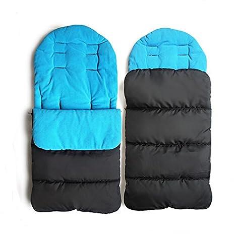 Saco de dormir para carritos de bebés, diseño cerrado: Amazon.es ...