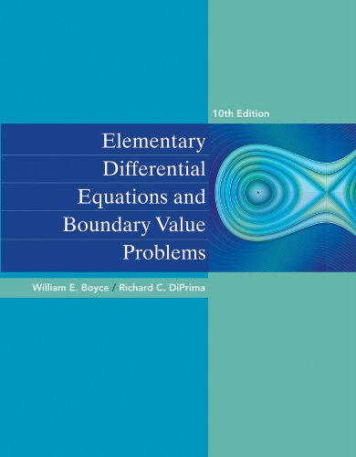Elementary Differential Equations and Boundary Value Problems 10e + WileyPLUS Registration Card
