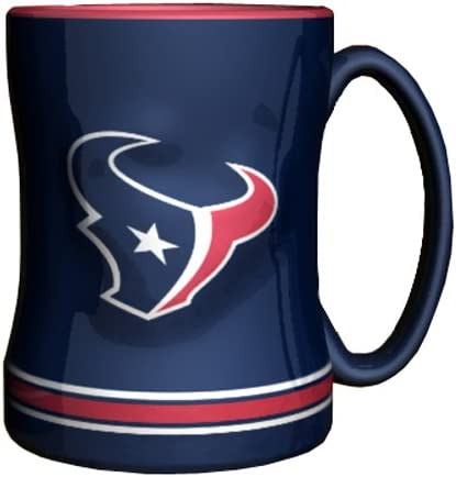 NFL Houston Texans Boxed Relief Sculpted Mug