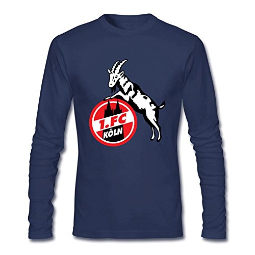 JXK Men's FC Koln Koeln Long Sleeve T-shirt XL ColorName