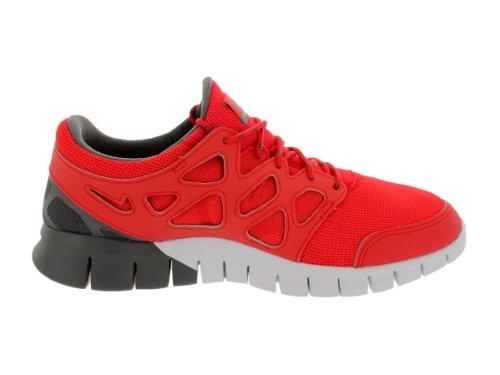 NIKE Free Run 2 537732-250 Herren Laufschuhe Rot/Grau/Gelb