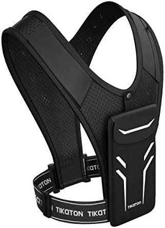 Tikaton Running Vest with Adjustable Waistband & Smart Materials - USA Original Patent, USA Designed, USA Shipped, USA Warranty