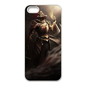 Dark Souls iPhone 4 4s Cell Phone Case White 218y-682827