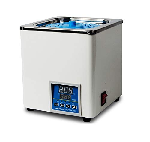 Digital Thermostatic Lab Water Bath, RT to 100°C, 3L Capacity, 300W, 120V/60 Hz