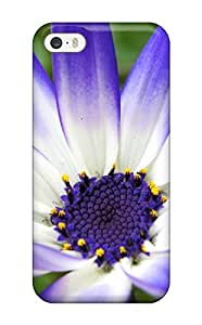 New Arrival Case Cover With FDmHSzK5554XyAlG Design For Iphone 5/5s- Blue Flower