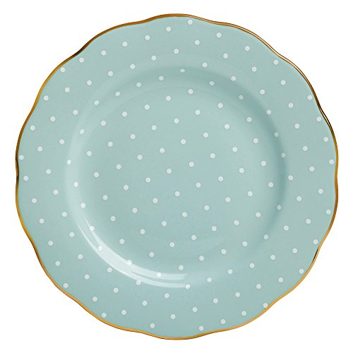 (Royal Albert 8701025811 Polka Rose Formal Vintage Salad Plate)