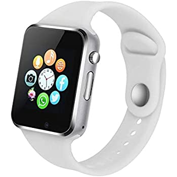 Amazon.com: Bluetooth Smart Watch - Aeifond Touch Screen ...