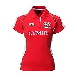 Manav (UK) Ladies Welsh Fashion Rugby Shirt (Printed Cymru)