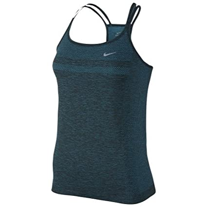 c2643959 Amazon.com: Nike Dri-Fit Knit Womens Running Tank / Sleeveless Top ...