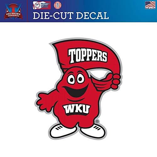 (Victory Tailgate Western Kentucky University Hilltoppers WKU Die-Cut Vinyl Decal (Approx 6x6))