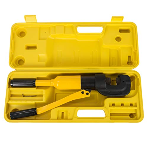 Happybuy Hydraulic Rebar Cutter 12T 3/4 Inch Concrete Construction Tool G-20 Rebar Cutter Cuts 1/4-3/4 Inch 4-20mm Handheld Hydraulic Rebar Cutter Handheld Reber Cutter