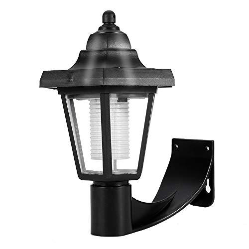 Wandlamp, LED-wandlamp op zonne-energie Buitenverlichting voor Balkon Tuin Tuin, Eenvoudig te monteren.