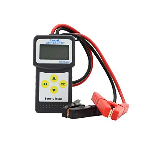 12V Car Battery Tester, Auto Vehicle Battery Analyzer Tester 100-2000 CCA Analyzer Directly Detect Bad Cell Battery Check Battery Health