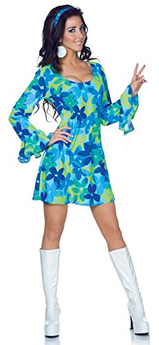 Underwraps Costumes Women's Retro Hippie Costume - Wild Flower