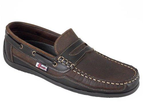 Beppi Slip On Chaussures Bateau / Mocassins Homme Marron