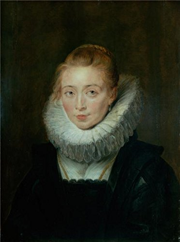 Oil Painting 'Portrait Of Lady-in-Waiting To The Infanta Isabella,1620s By Peter Paul Rubens' Printing On Polyster Canvas , 8x11 Inch / 20x27 Cm ,the Best Hallway Artwork And Home Decor And Gifts Is This High Definition Art Decorative Canvas (Isabella Elephant Costume)