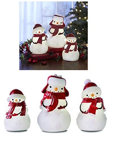 snowman timer candles - 3