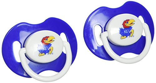 NCAA Kansas Jayhawks 2 Pack Pacifier