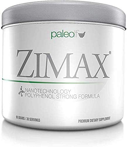 ZIMAX Super ANTIOXIDANT - 100% Natural - High Absorption Curcumin, Rosemary Extract, Grape Seed Extract, Olive Leaf Extract ORAC 3,451,770 (Canister) (Pack of Two)