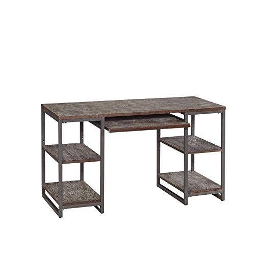Home Styles 5053-15 Barnside Metro Pedestal Desk, Gray Finish