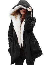 Women Thicken Warm Winter Coat Hood Parka Overcoat Long...