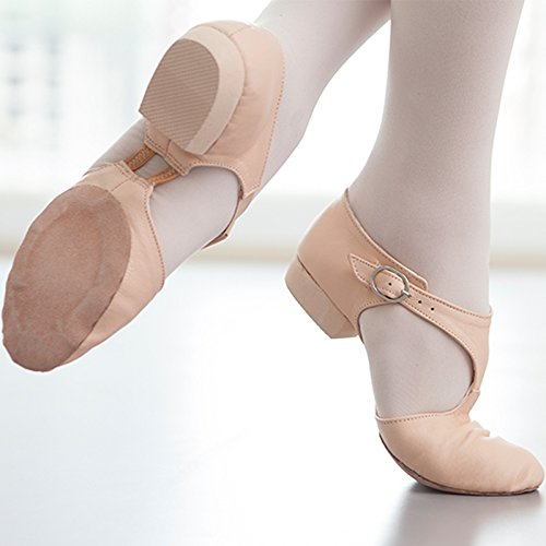 Rose rose Trente-six Wuyulunbi@ Chaussures de danse jazz