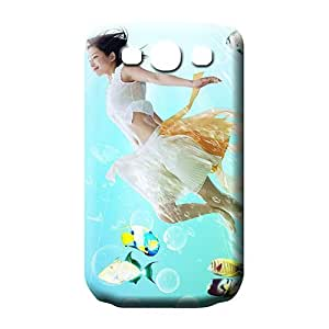 samsung galaxy s3 football cases covers High-end Eco Package series fish with girl