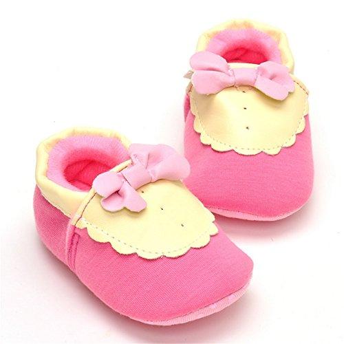 ESTAMICO , Baby Mädchen Lauflernschuhe rosa rose 6-12 Monate