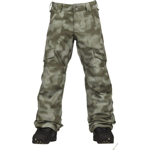 Burton TWC Tracker Pant Boy's Keef Jungle Dot Camo XS by Burton