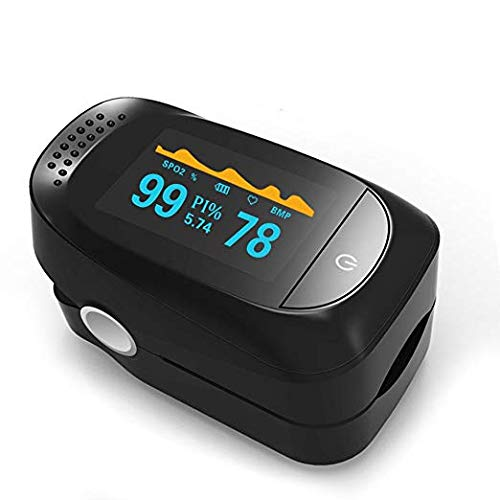 - Pulse Oximeter, Finger Portable FDA Approved Digital Blood Oxygen and Pulse Sensor Meter with Alarm SPO2 For Adults and Children (High-end models)