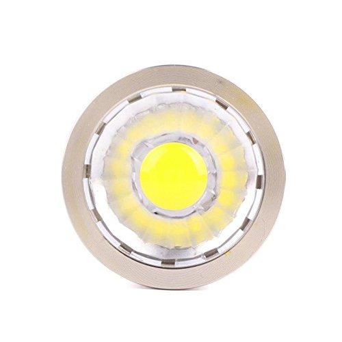 Eachbid GU10 LED COB Spotlight Light Bulb 12W Aluminum