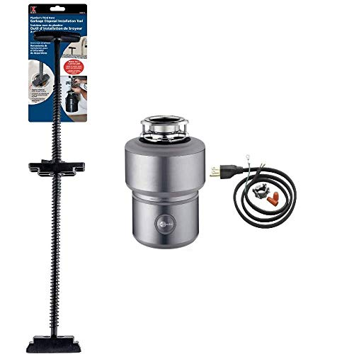 InSinkErator Insinkerator Excel Evolution 1 HP Garbage Disposal With Soundseal Plus Technolog, Power...