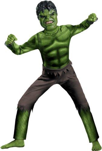Incredible Hulk Movie Costumes (Hulk Movie Classic Child Costume - Large)