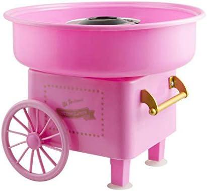 Retro Eléctrico máquina de algodón de azúcar, Mini fabricante de hilo de caramelo 450W para niño juguetes,Pink: Amazon.es: Hogar
