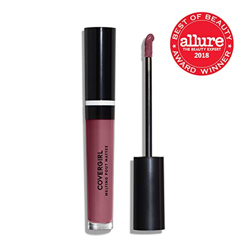 COVERGIRL Melting Pout Matte Liquid Lipstick, Secret, 1 Count