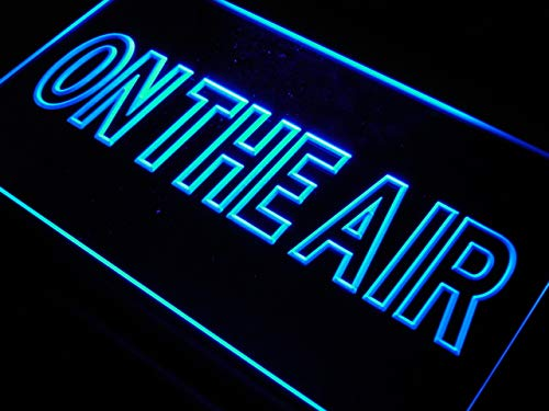 ADVPRO Cartel Luminoso j708-b On The Air Studio Room Game ...
